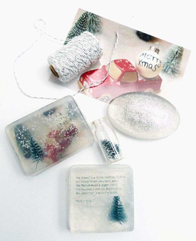 Weihnachtsseife selber machen