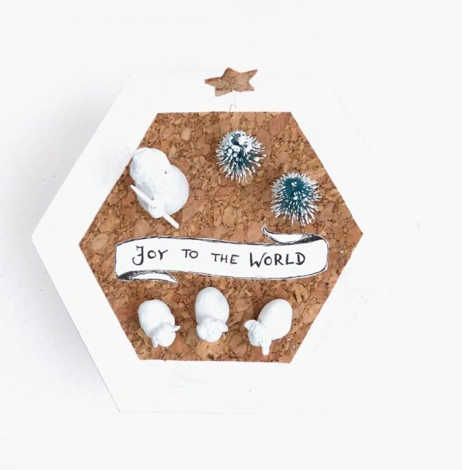 Joy to the World Geschenkschachtel