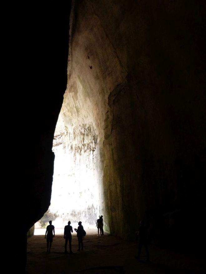 """Höhle """"Ohr des Dionysos"""" in Syrakus"""