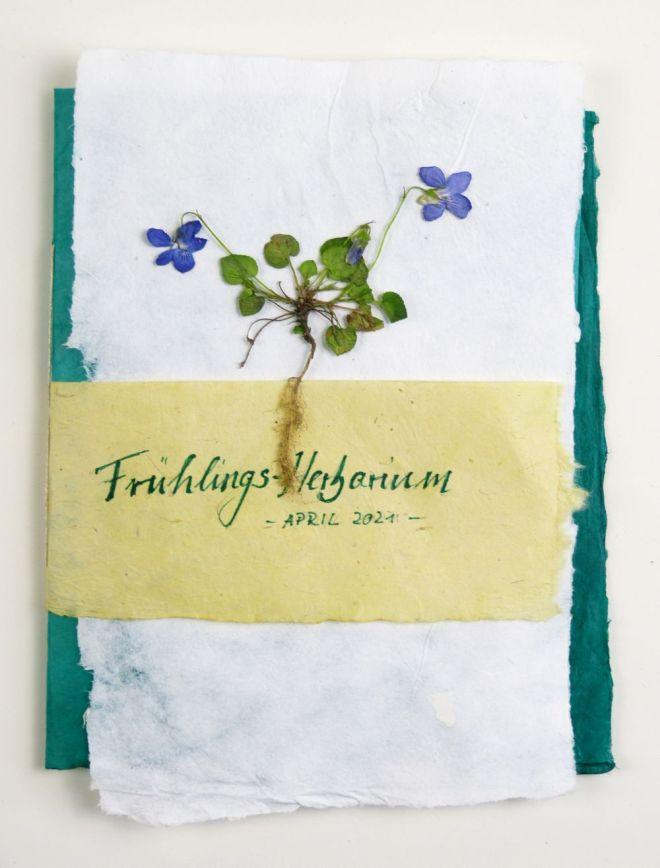 Selbst gemachtes Herbarium