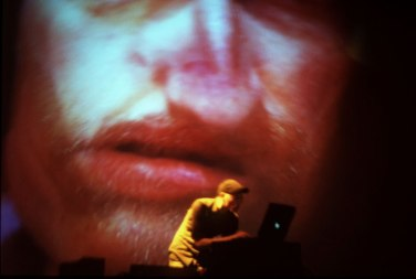 2001. Live visuals for Hazard: Touch20, South Bank Centre, London (UK)