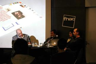 2012. Guesting for the launch of PLI design magazine.