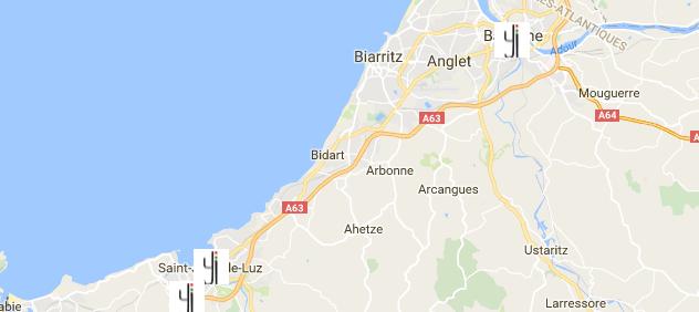 Carte des revendeurs Yipikaii au Pays-basque