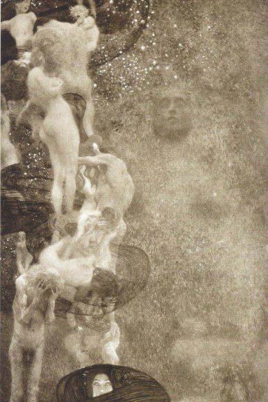 Image of Philosophy by Gustav Klimt