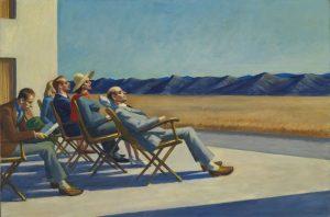 Edward Hopper's People in the Sun