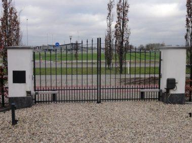 Model 6 - dubbele poorten met poortopener