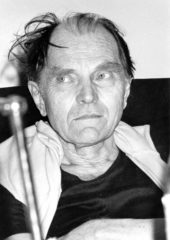بول فييرابند ، فيلسوف العلم النمساوي، وبروفيسور الفلسفة في جامعة بيركلي