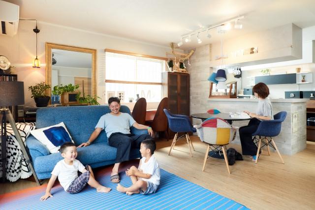 客廳整理重點1:色彩與質感走度假旅館風格