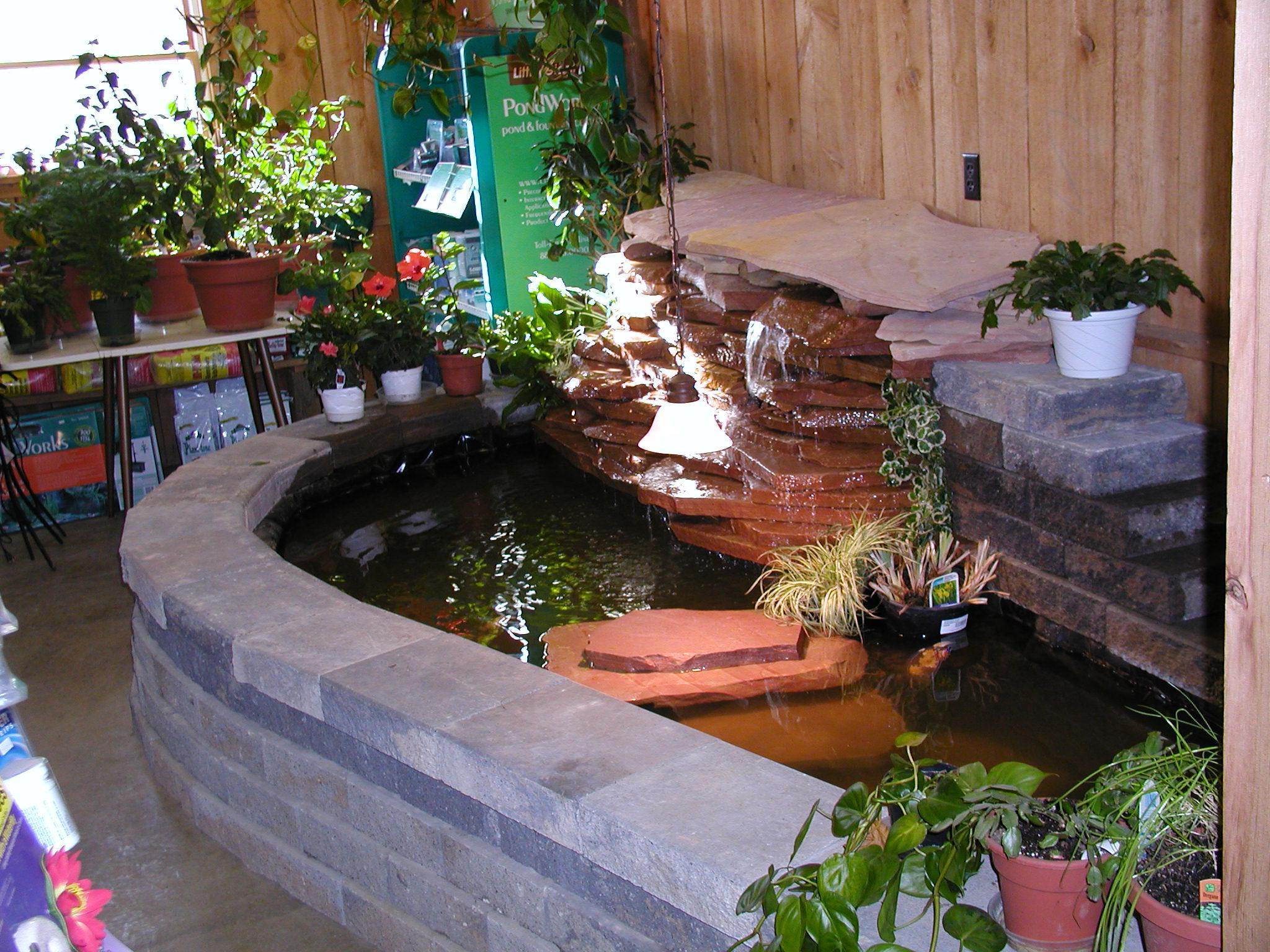 Garden Design Doors Indoor Waterfall Displays Indoor ... on Home Garden Fountain Design id=93342