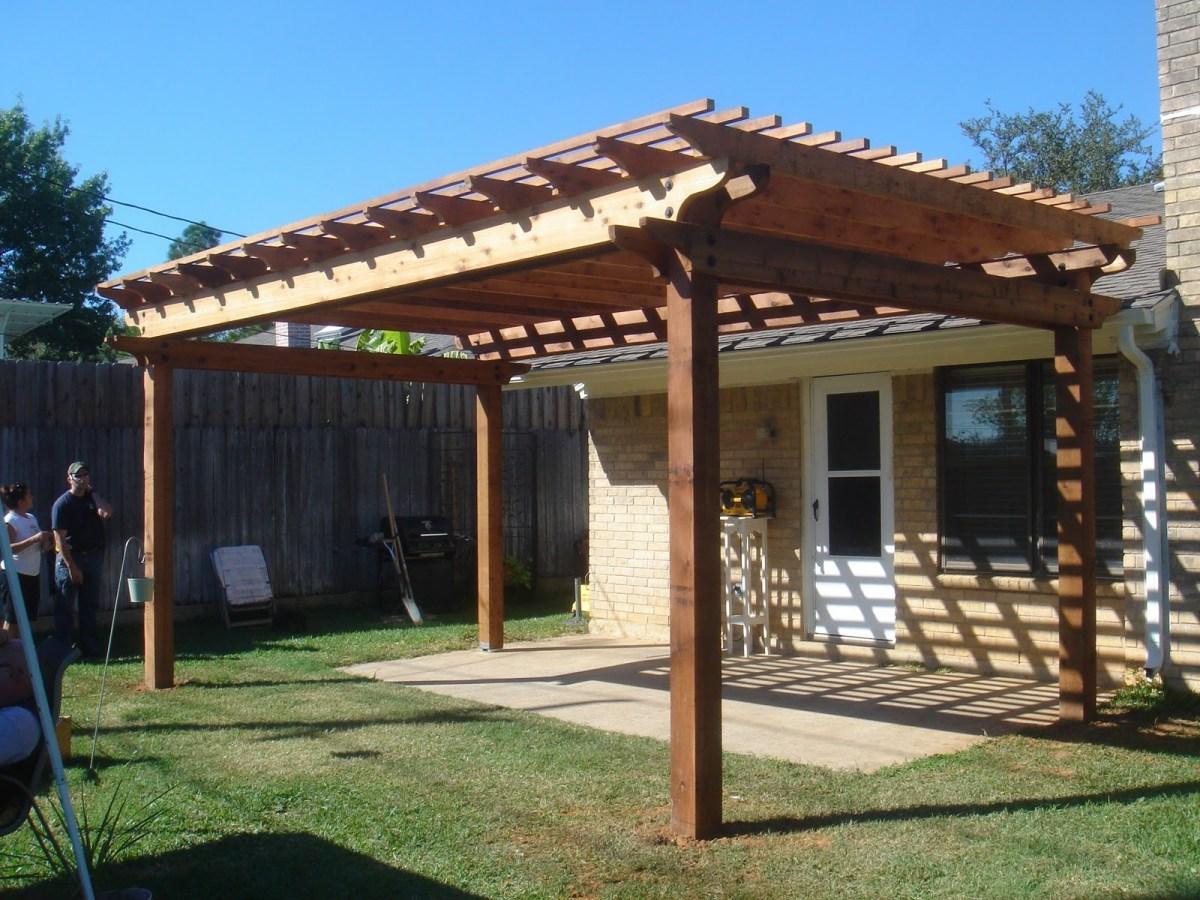 outdoor pergola gazebo patio ideas Modern Simple Pergola And Gazebo Design Trends Attached To