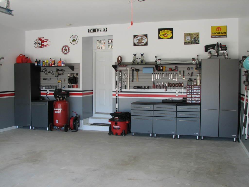 Garage Decor Ideas Organization - Helda Site; Furnitures ... on Garage Decoration  id=51656