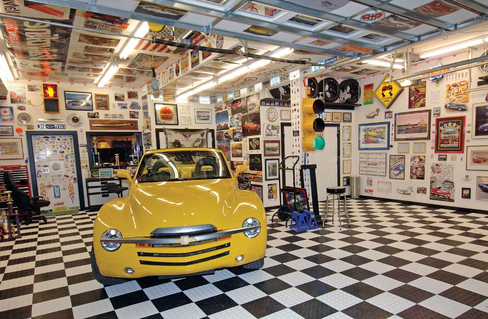 Garage Decor Ideas - Helda Site; Furnitures & Home Design on Garage Decorating Ideas  id=75530