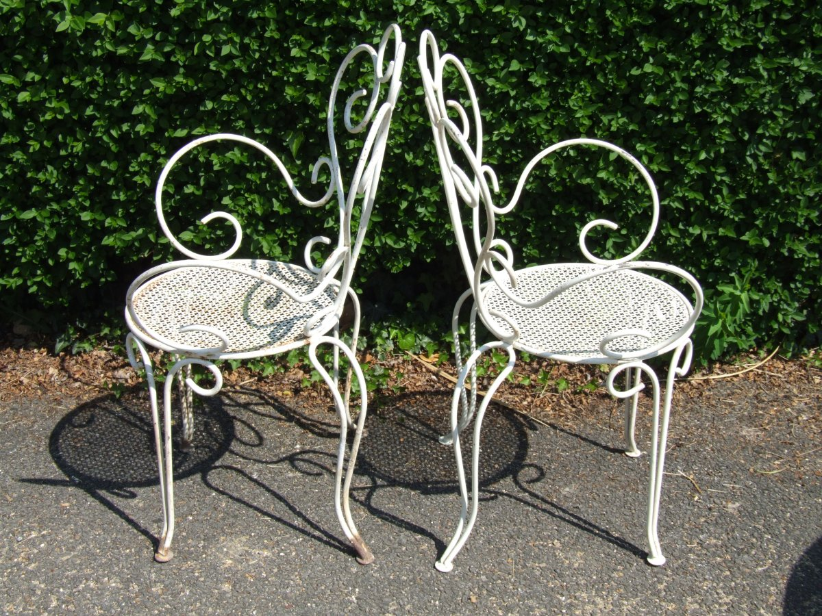 wrought iron patio furniture Best Vintage Patio Chair And Antique Wrought Iron Patio