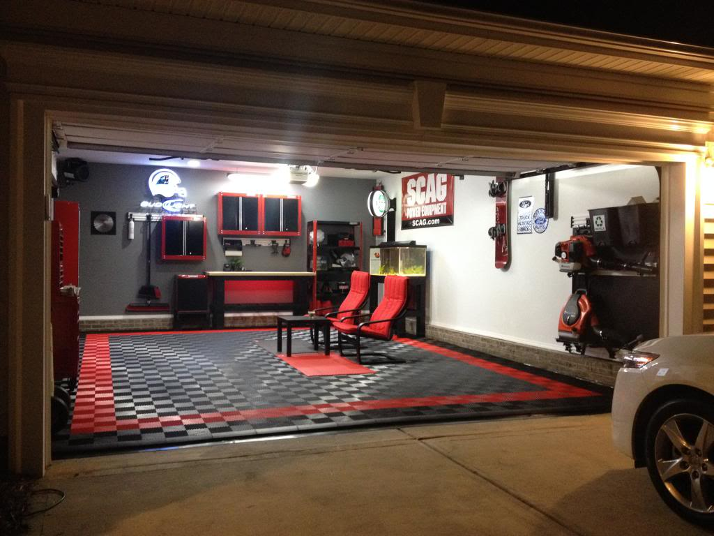 Pink Garage Decor Ideas - Helda Site; Furnitures & Home Design on Garage Decorating Ideas  id=29280