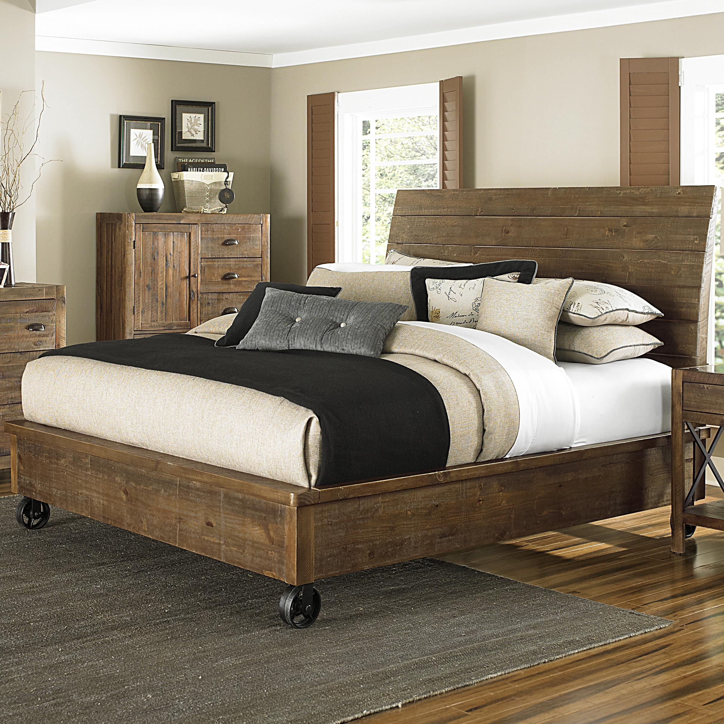 Furniture Dazzling Cheap Headboard Design Ideas With Brown ... on Cheap Bed Ideas  id=13549