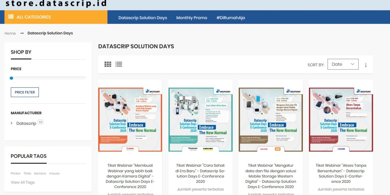 Datascrip Solution Days E-Conference 2020