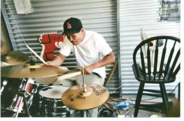 Phillip. Rehearsal space. Stockton, CA. Circa 2003