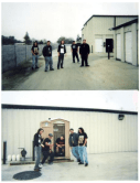 Held In Scorn. Rehearsal space. Stockton, CA 2003.
