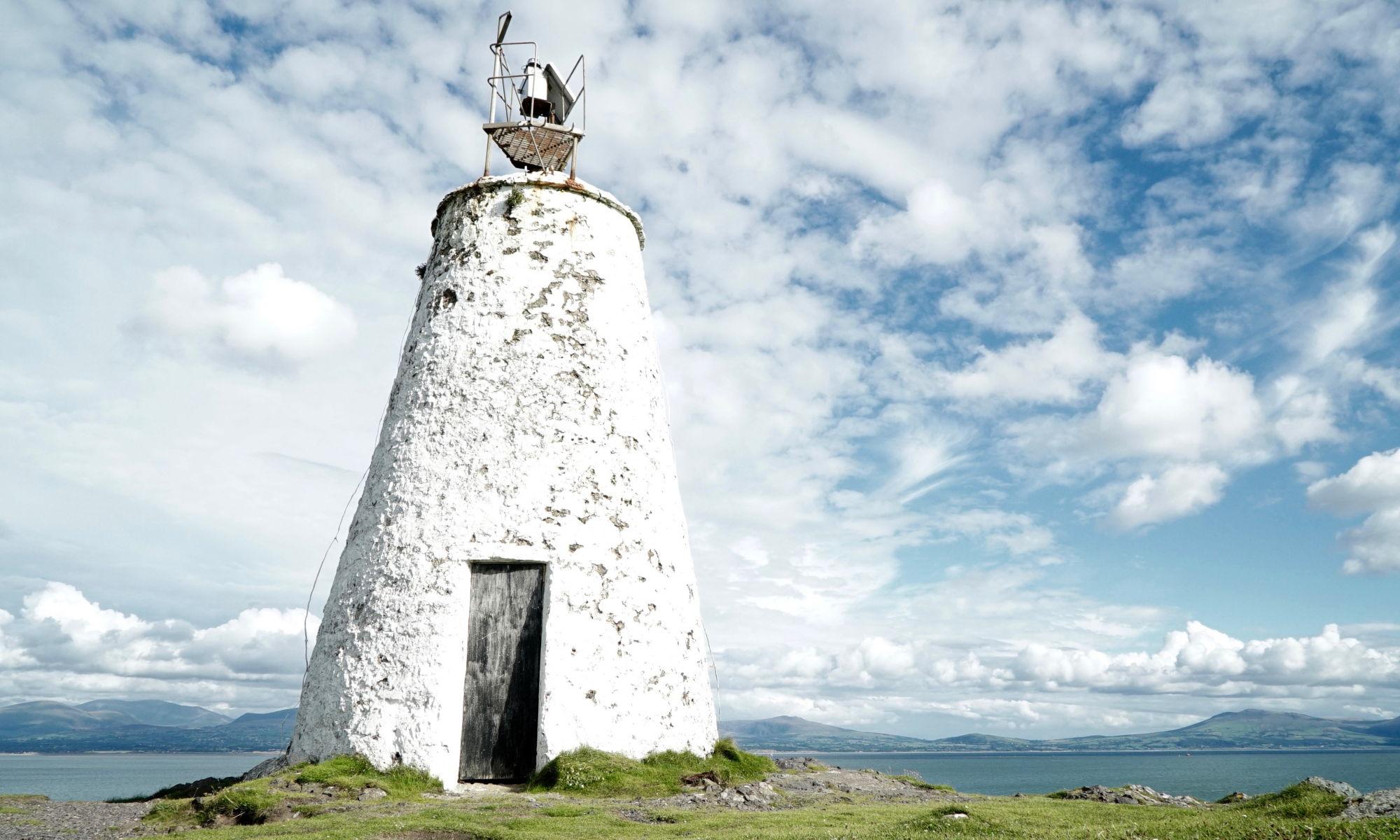 Lighthouse, Llanddwyn, Angelsey