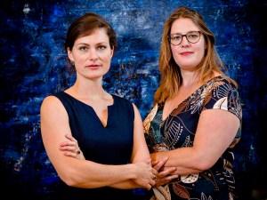 Liedduo Heleen Vegter en Charlotte Houberg ©mel boas