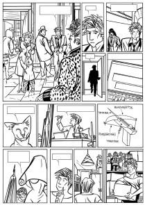 Splinter Het Album - p20 zwart-wit laagres - Morris en Zilverberg