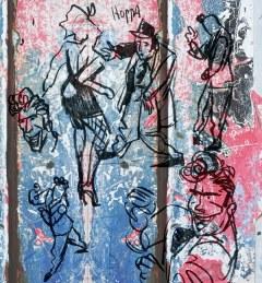Splinter Het Album - DANCE schetswerk en MoArt