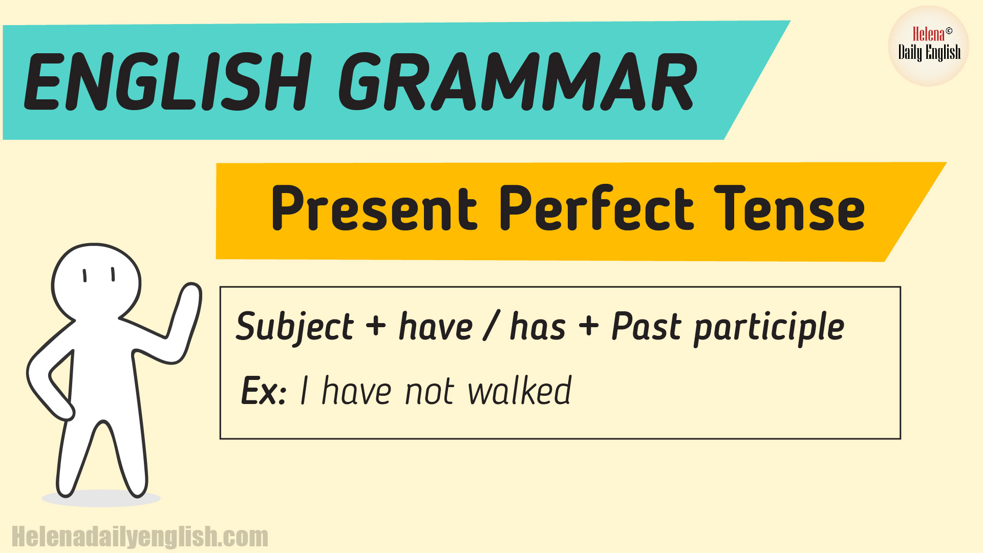 The Present Perfect Tense Example Amp Explanation English