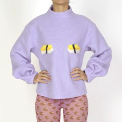 Purple, sushi, sweater, HelenaFananda, Collection