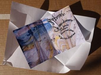 mail art sent from el Tigre, Bs As, Argentina