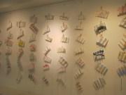 Les minis livre-accordéons de la centaine d'élèves