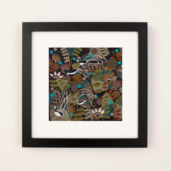 Lyre Lyre Fine Art Print framed