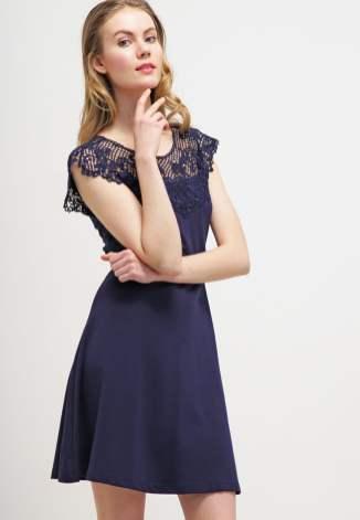 Anna Field Jerseyklänning - peacoat