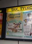 Veganreklam i Wieliczka