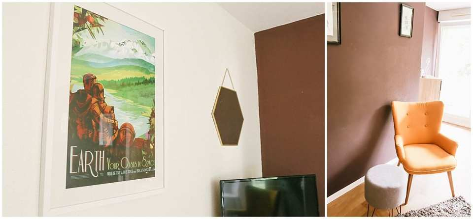 expat home decor in apartment in strasbourg france