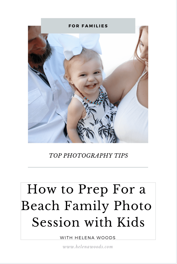 How to Prep For a Family Photo Session with Kids