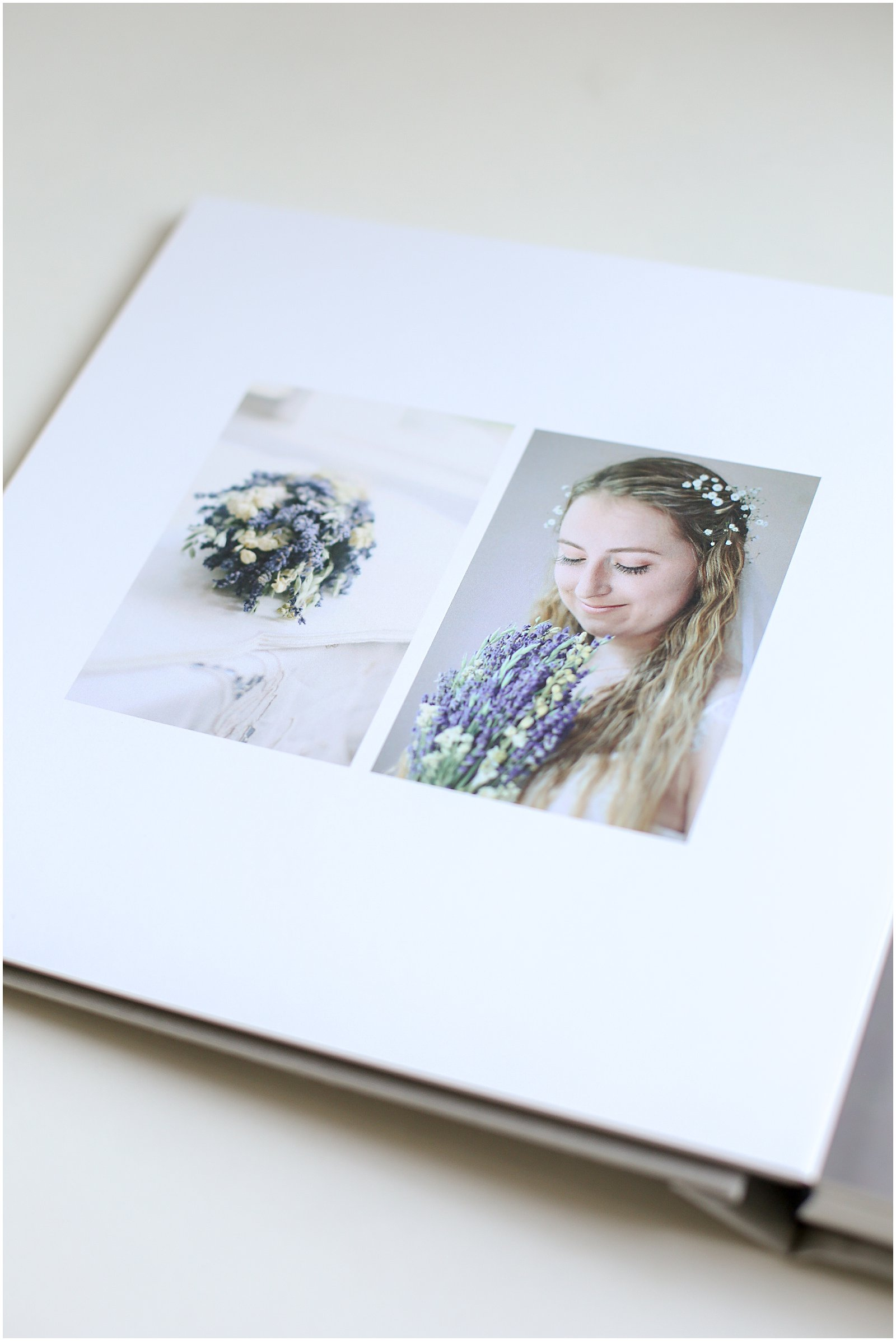 Helena Woods anniversary wedding tradition with albums and letters