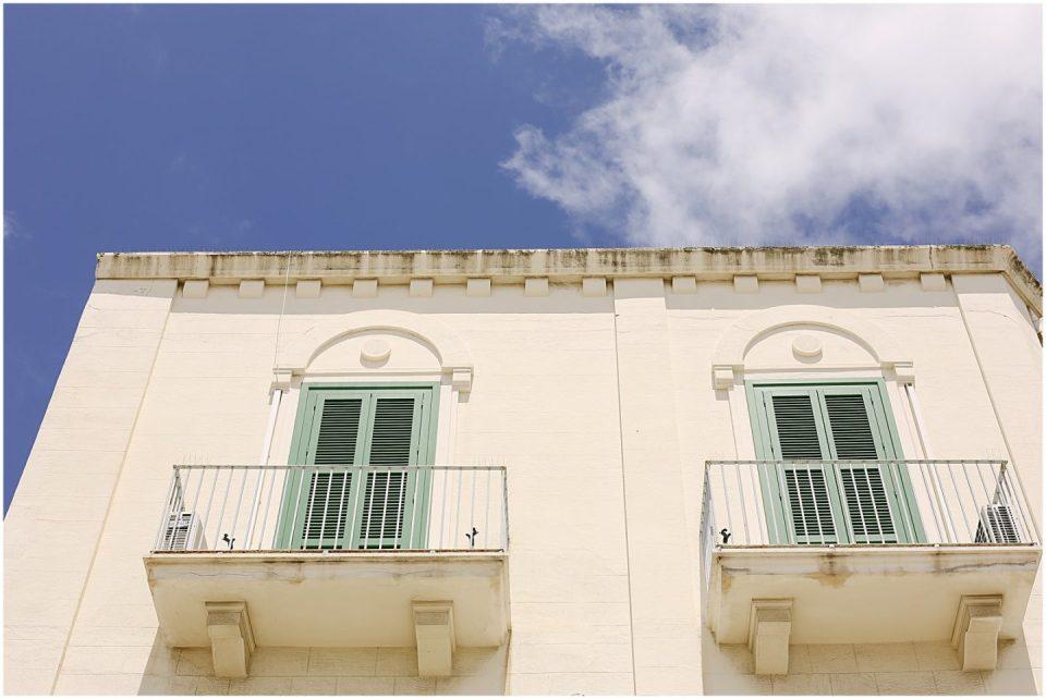 balcony in bari italy travel photography