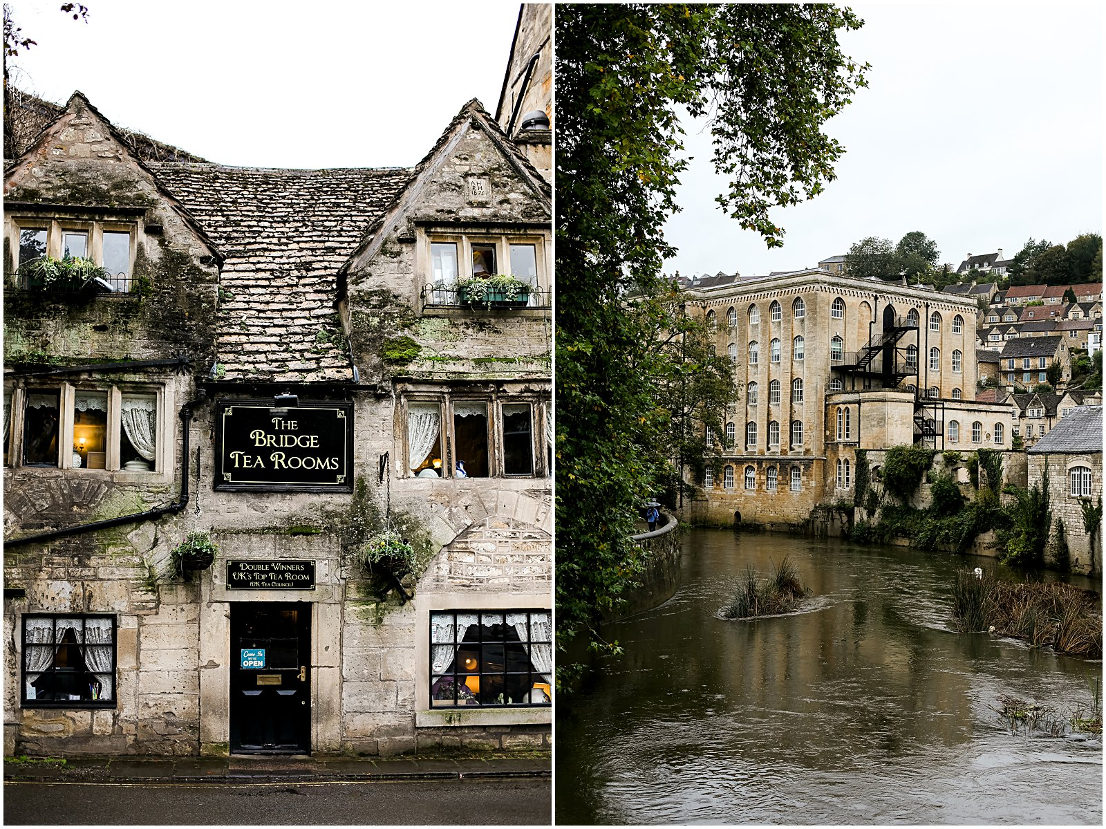 tea room in Bradford-on-Avon England photographed by Helena Woods