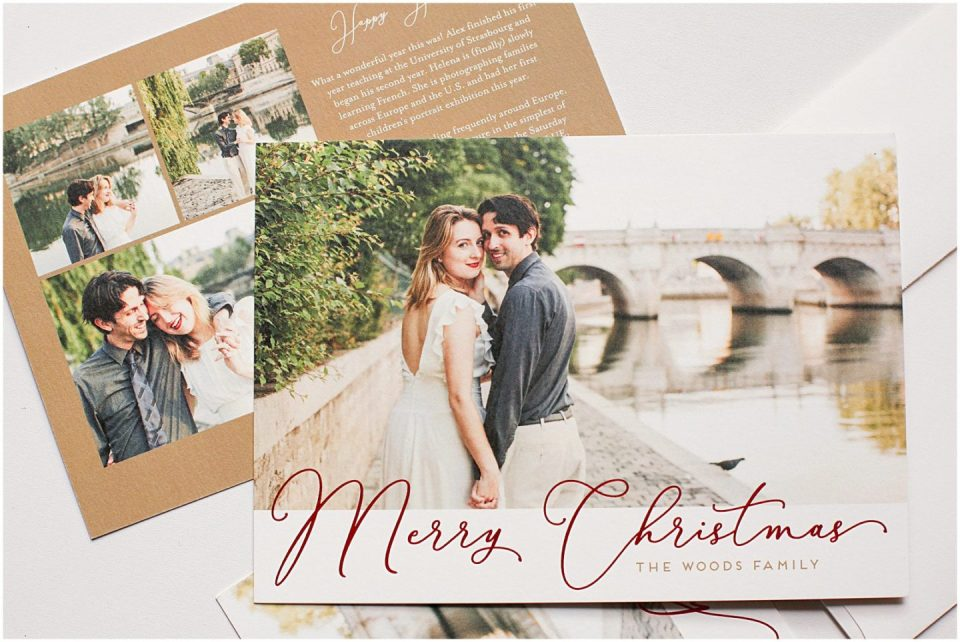 Print your family holiday cards with Helena Woods Photography
