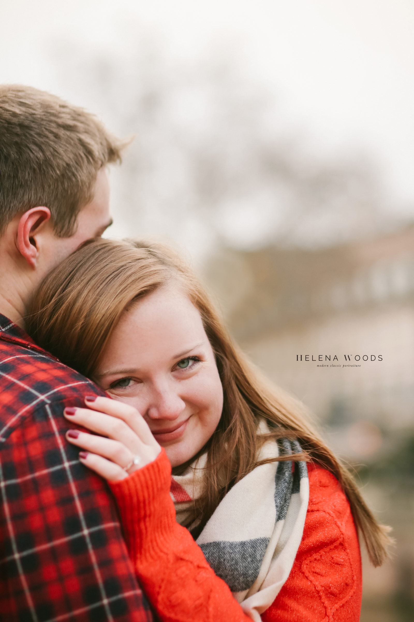 Amber Mariano engagement photos in Strasbourg France | Helena Woods Photography