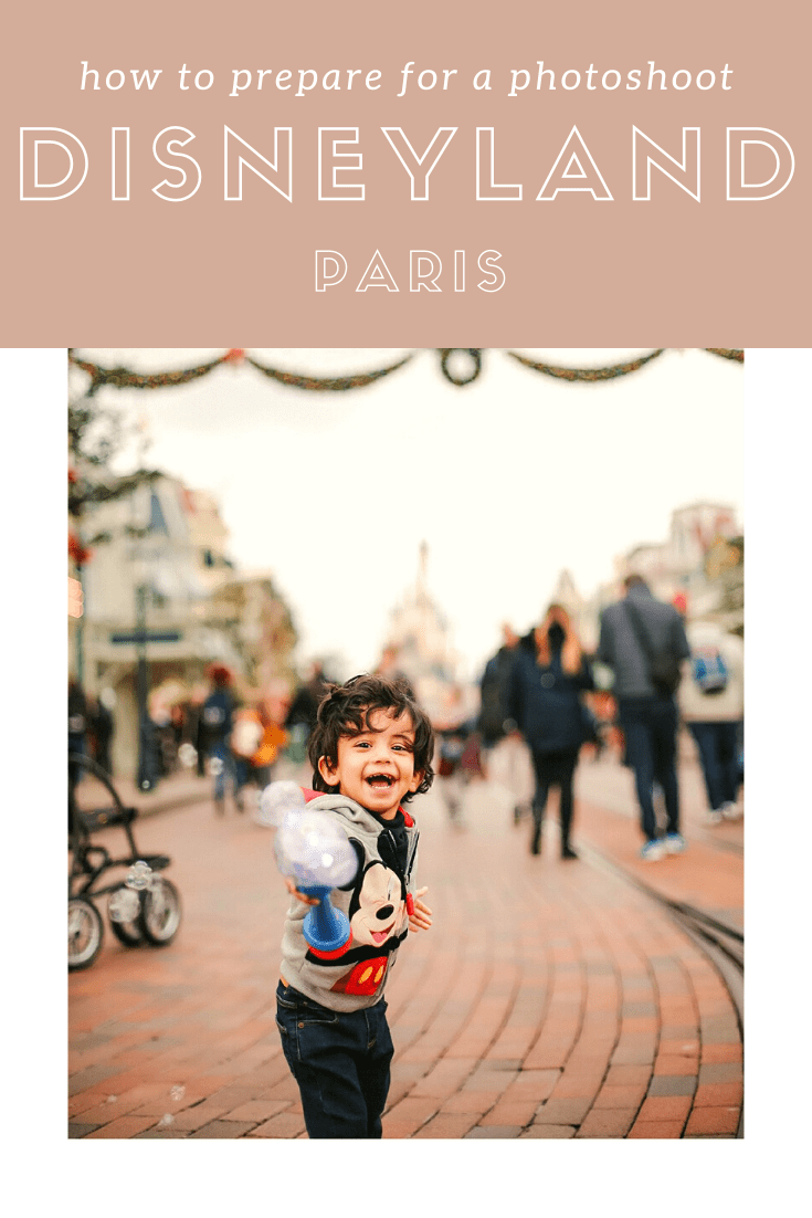 boy laughing at photoshoot at disneyland paris with family photographer helena woods