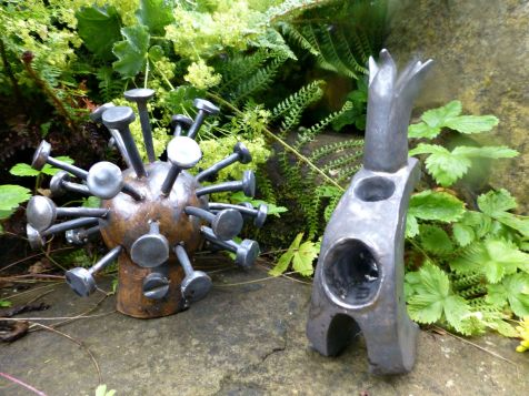 Garden ornaments Black £35 each