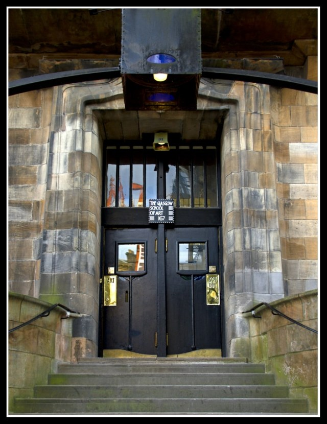 Glasgow Art School Door