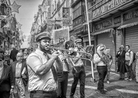 Brass Band St augustines feast Valletta