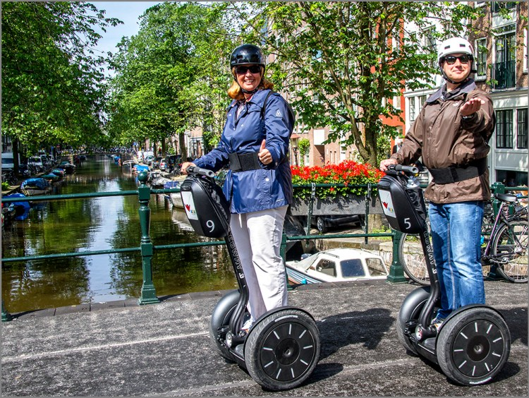 segway scooters Amsterdam