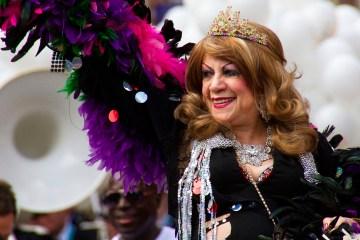 Margarita Pracatan at Manchester Pride 2016