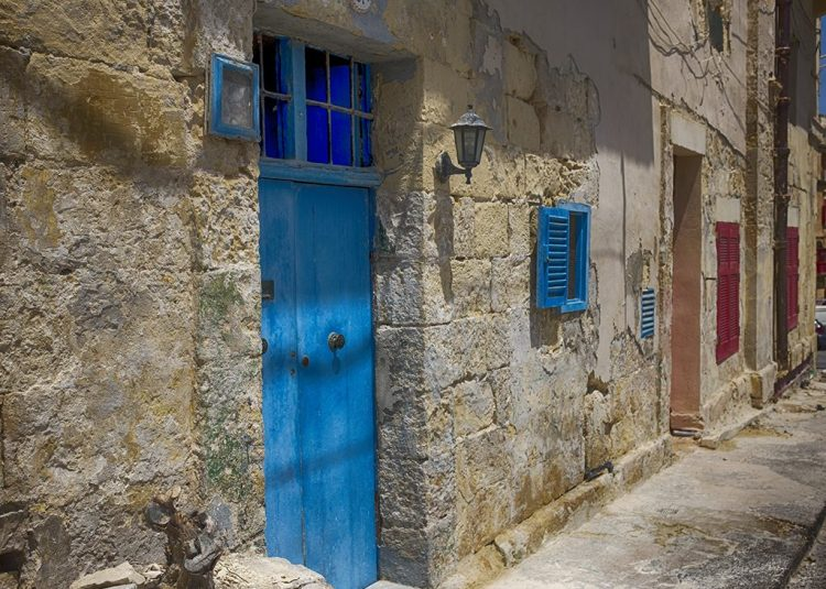 Blue Double Door 3