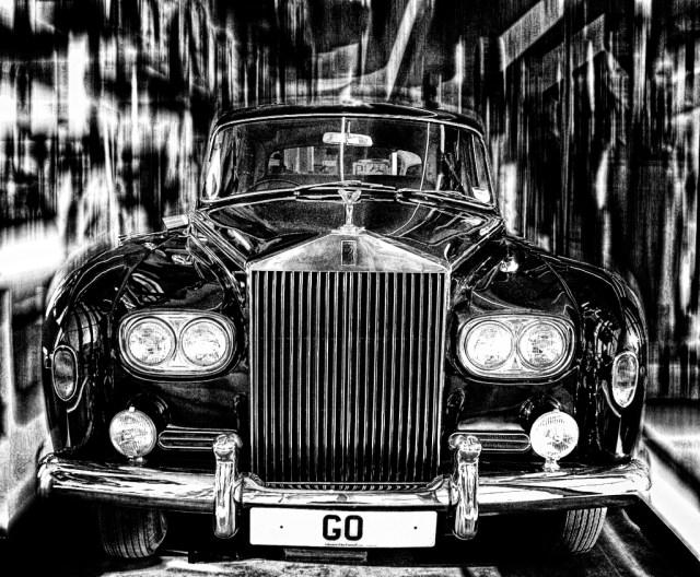 Rolls Royce GO Glasgow Riverside Museum