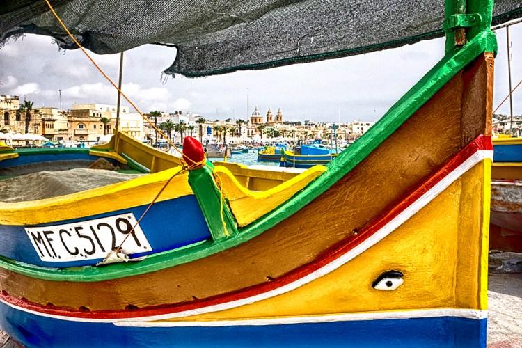 Marsaxlokk under Sail