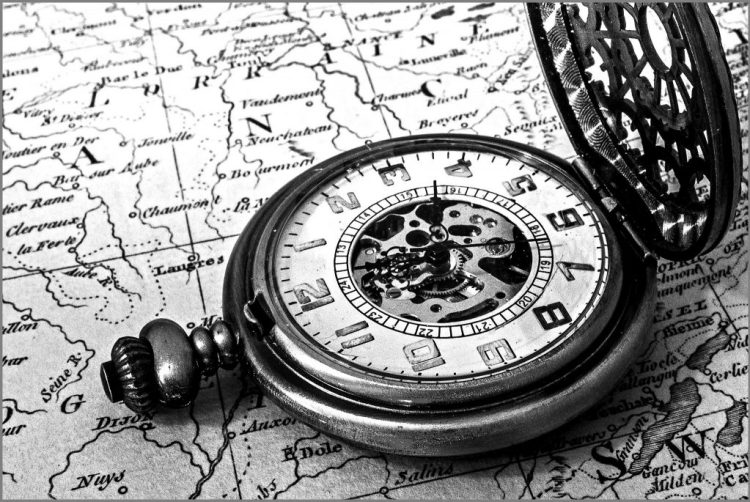 Time and Place pocket watch atlas